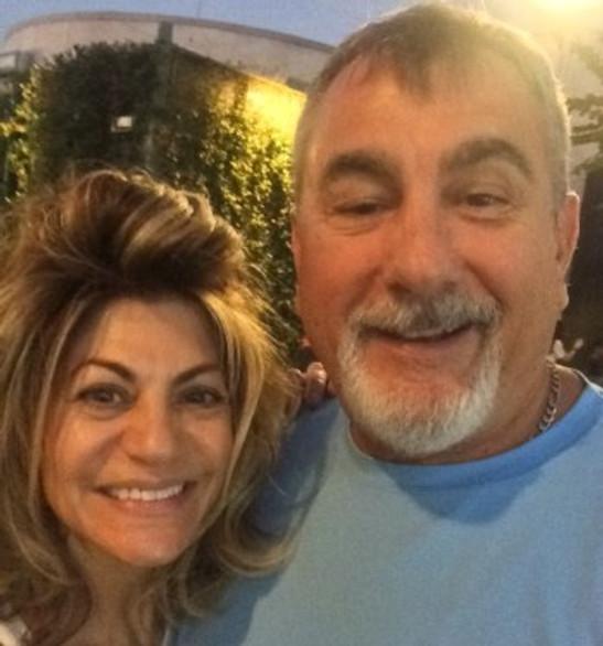 With my wife, Sheri, 2019.