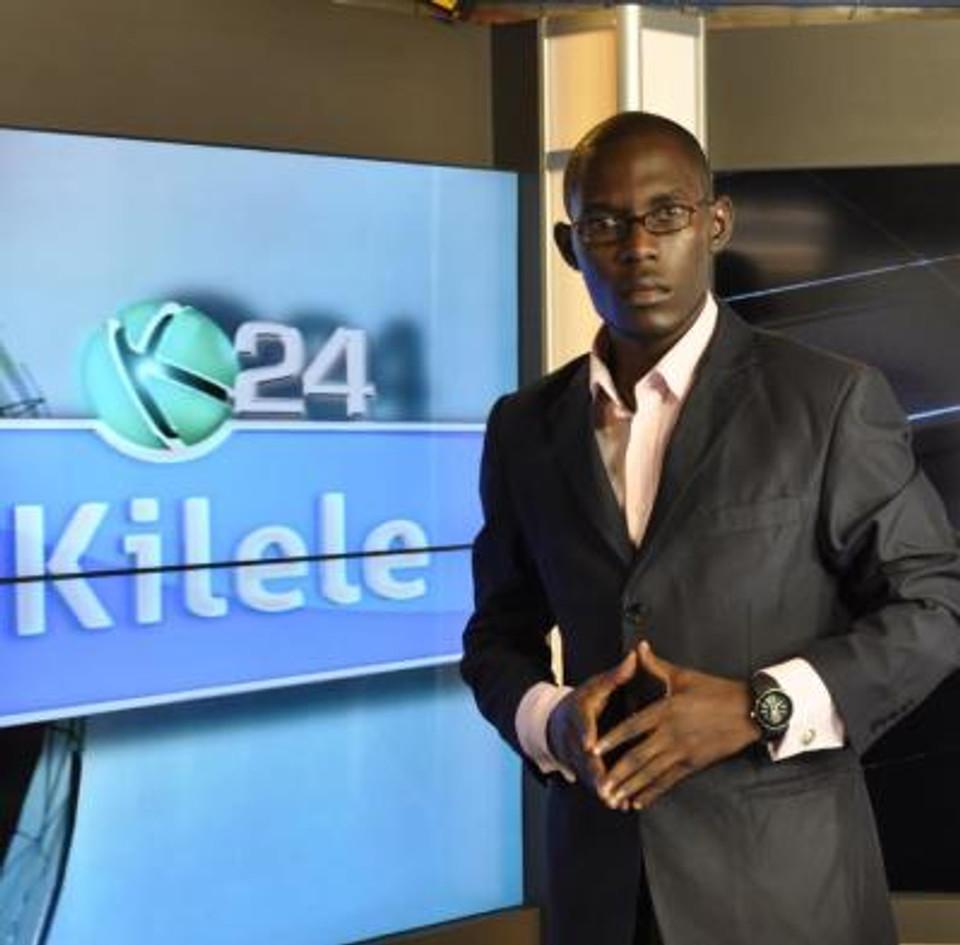 Presenting with K24 media, 2008.