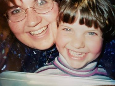 Mom and me (age 5), 1999.