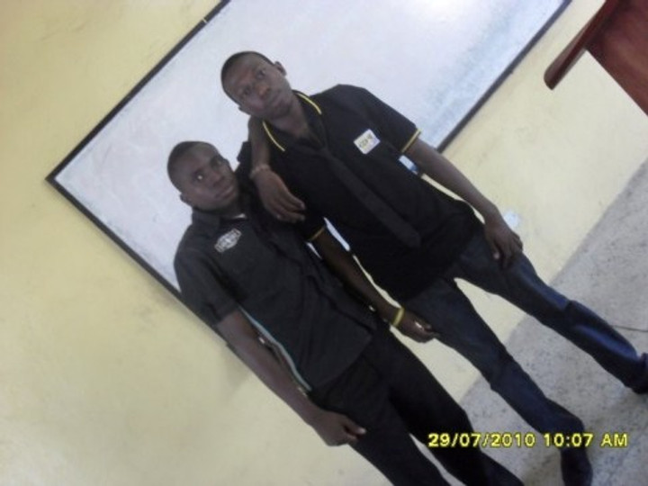 At the Nigerian Institute of Journalism, Lagos, 2010 (me on the left).