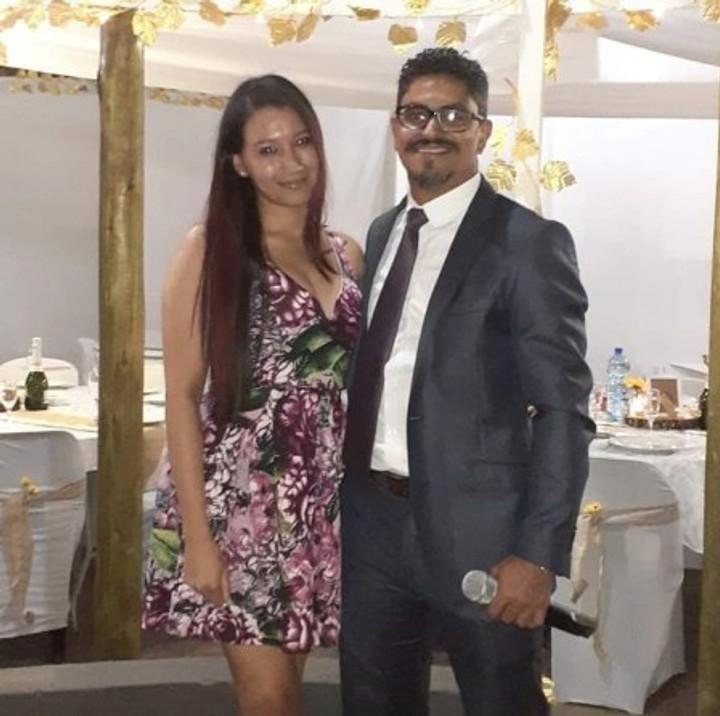 With my boyfriend, September 2019.