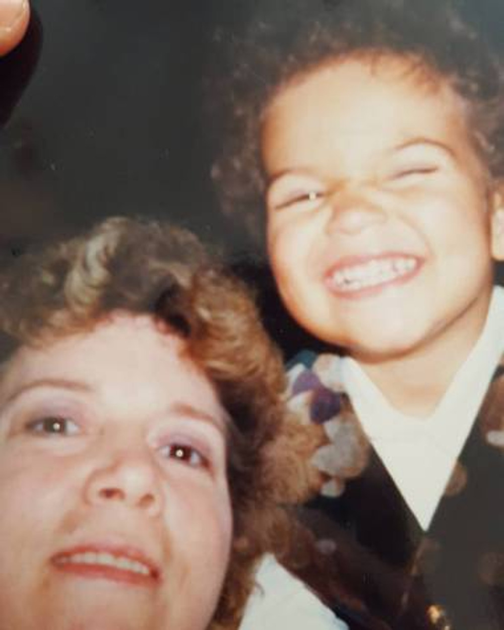 My mom and me, c. 1999.