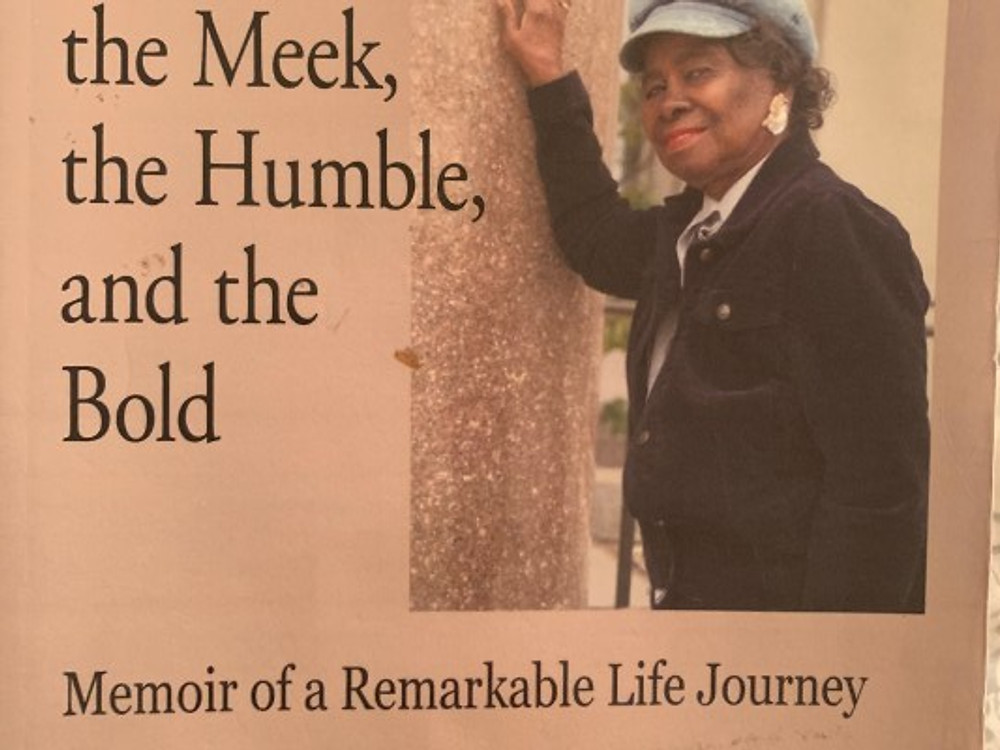 Cover of Elsie's memoir, Blessed Are the Meek, the Humble, and the Bold.