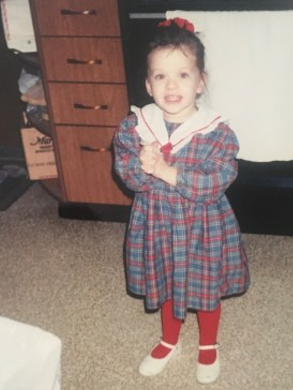 When I was a little girl.