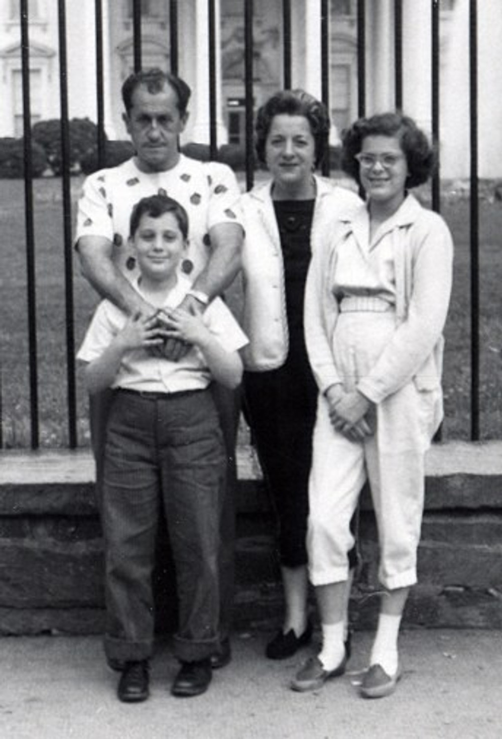 My family and I from a trip to Washington in 1959, about 5 years before my father passed.