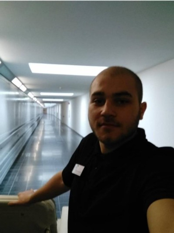 Working night shift as a paramedic in the local hospital in Leverkusen.
