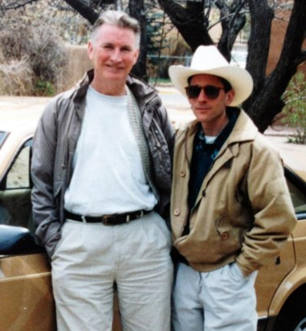 Julian and I in Santa Fe, 1993.