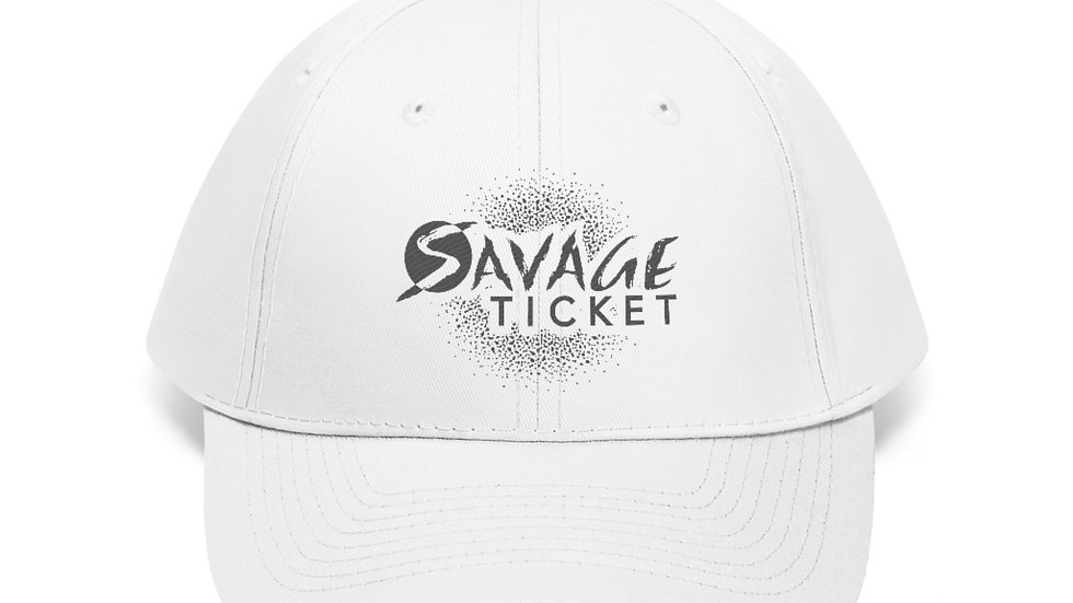 Savage Ticket Grey Logo Hat