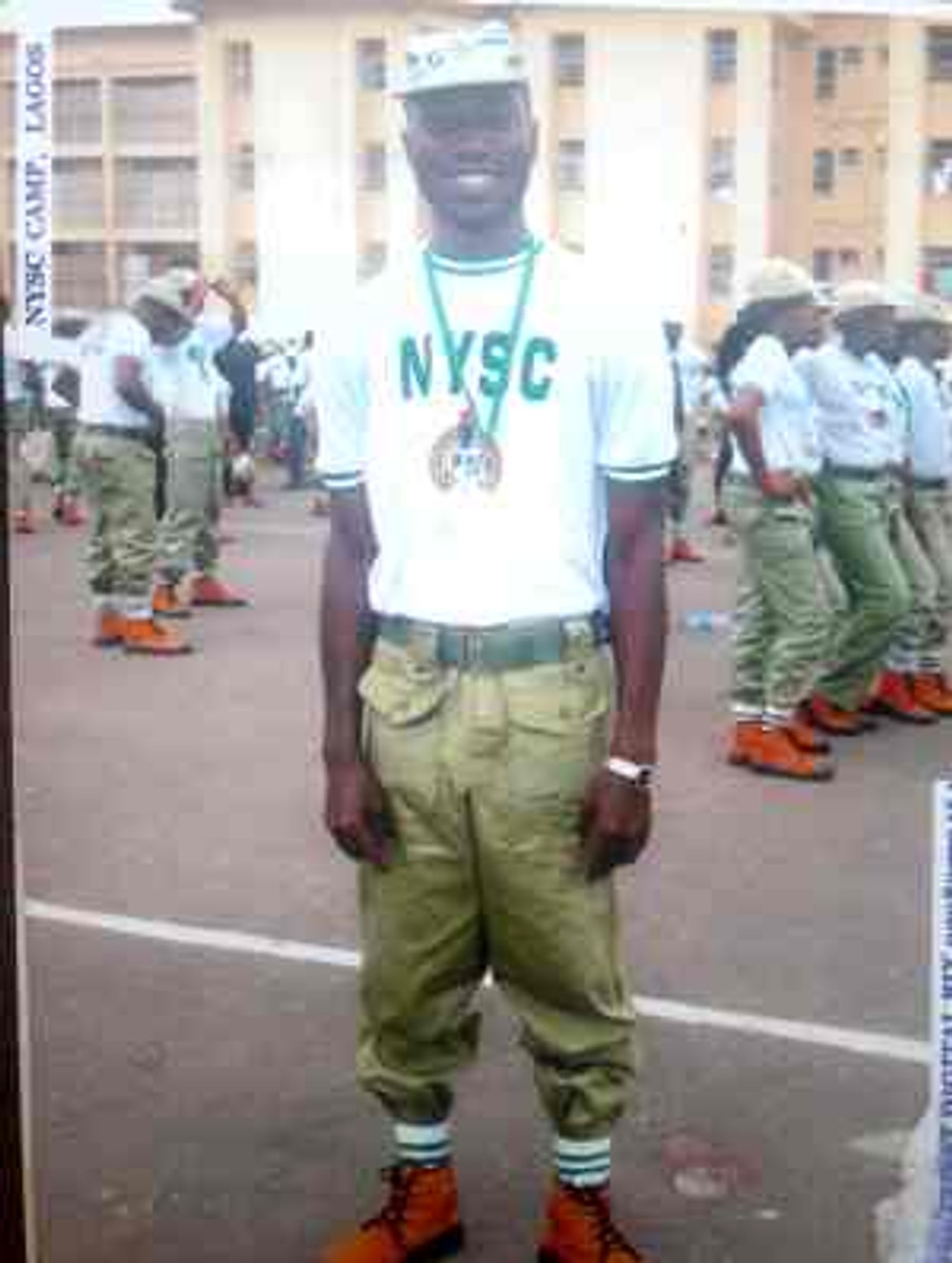 During my NYSC orientation, 2010.