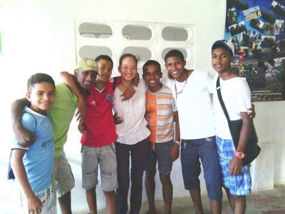 The young people from our after-school program in Cartagena, Colombia.