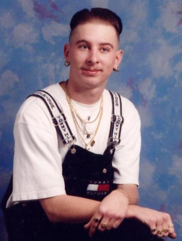 My high school senior picture, 1997.