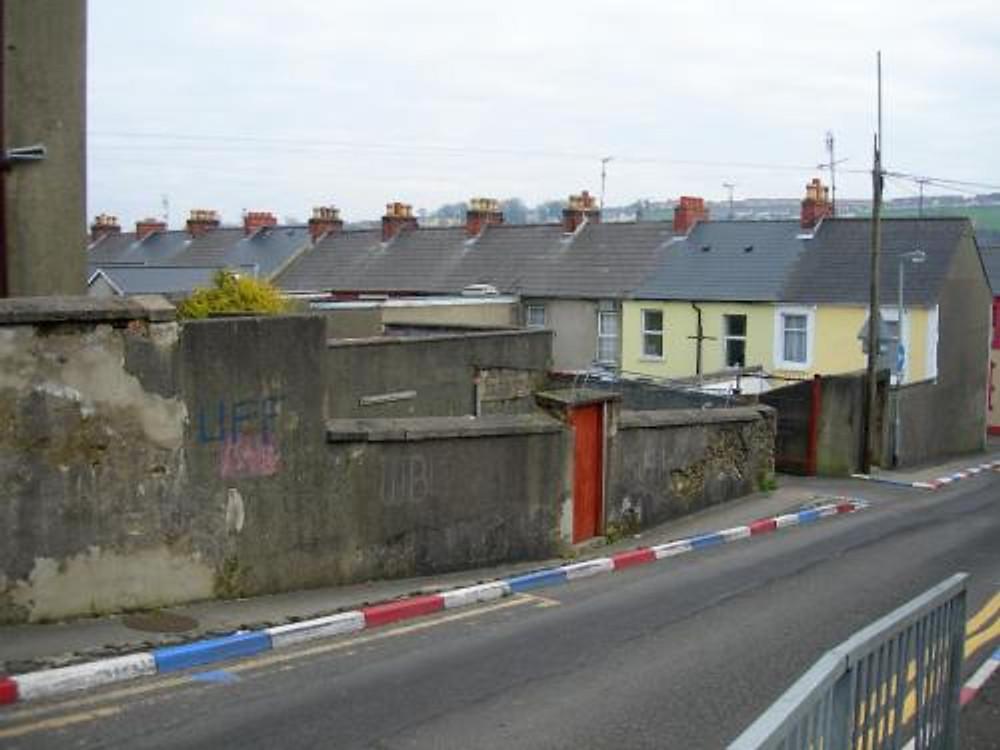 A Unionist neighborhood in East Belfast.