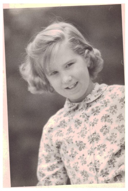 Me at age six.