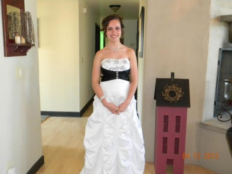 My senior prom, 2013.