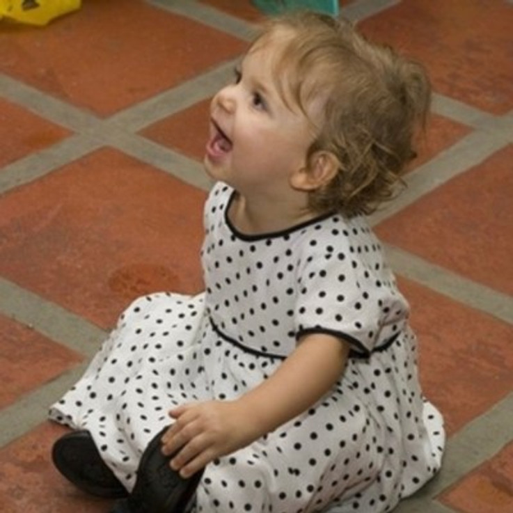 My daughter at 1 year old.