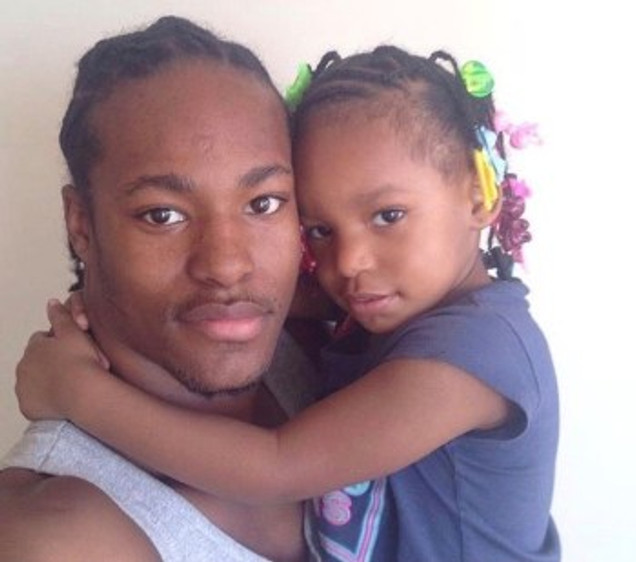 Me and my daughter, Pais' leigh.