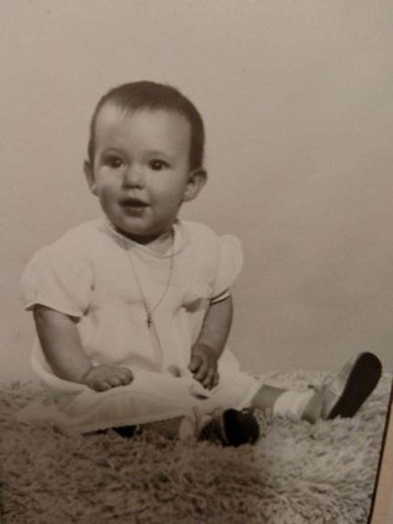 Little baby me, 1951.