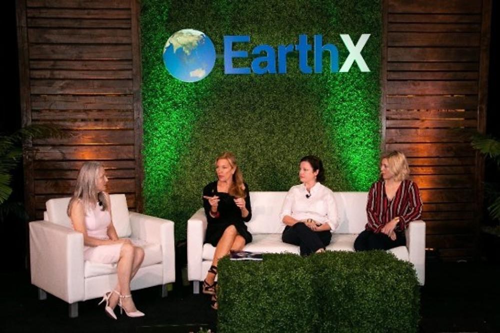 Catherine (far left) on Earth X, 2019.