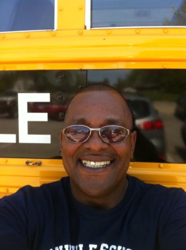 My bus selfie.