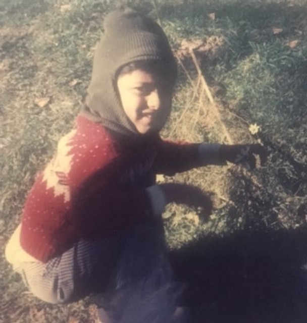 Me as a young nature lover!