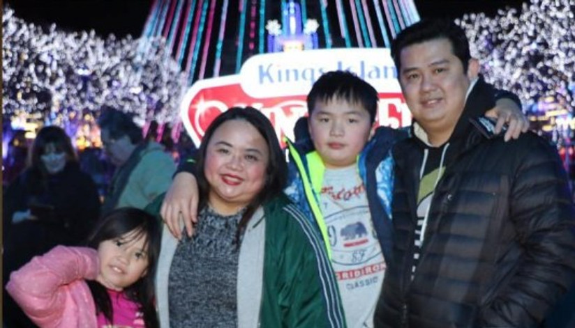 Me and my family, December 2017.