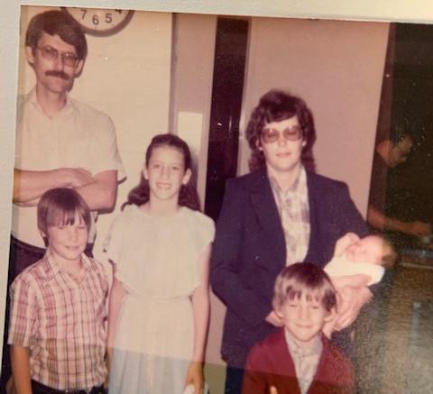 Family photo, 1983.