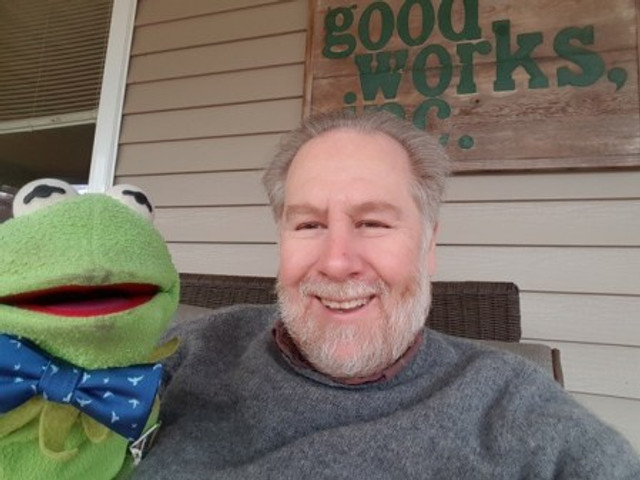 Keith and Kermit, 2018.