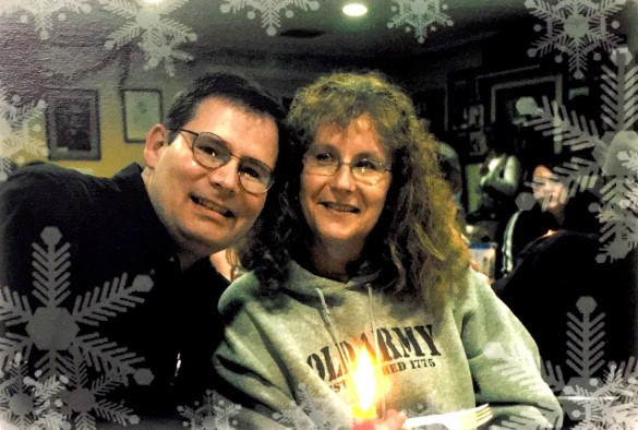 Me with my wife, 2007.