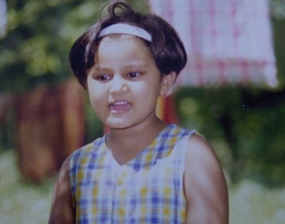 Me, six years old.
