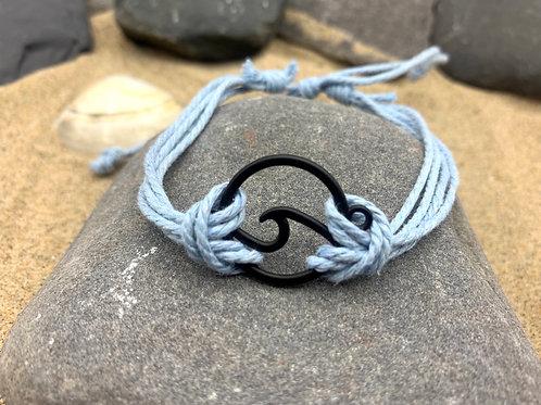 Infinite Wave Bracelet - Sky Blue