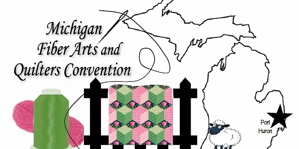 Handi Quilter Hands-On at the Michigan Fiber Arts & Quilter's Convention sponsored by Sew You Quilt