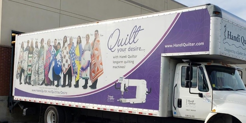 Handi Quilter Truck Event at Patty's Sewing Center