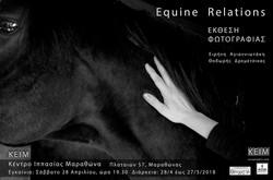 "photography exhibition_""Equine Relations""_KEIM_Marathon"