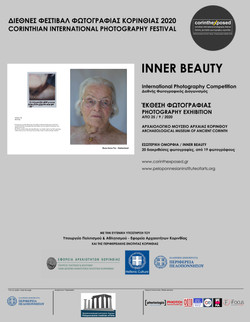 """International_photography_exhibition_2020_"""" Inner Beauty """" Archaeological museum of Ancient Corinth"""