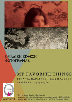 """photography exhibition_"""" My favorite things """"_Artplace Kanakis_Athens 23/5/2014"""