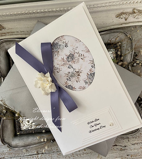 The Lavender Blue Paperie specializes in beautifully handmade greeting cards for all occasions