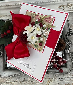 Shop The Lavender Blue Paperie For Luxury Handmade Christmas Cards