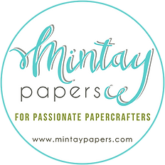 Mintay Florabella Collection/ The Lavender Blue Paperie/ 12 x 12 Papers for Papercrafts/ cardmaking