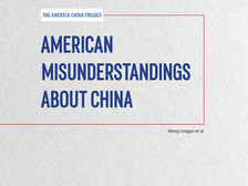 American Misunderstandings about China