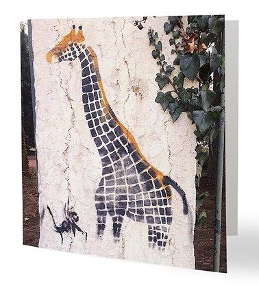 Girafe San de la Tête d'Or