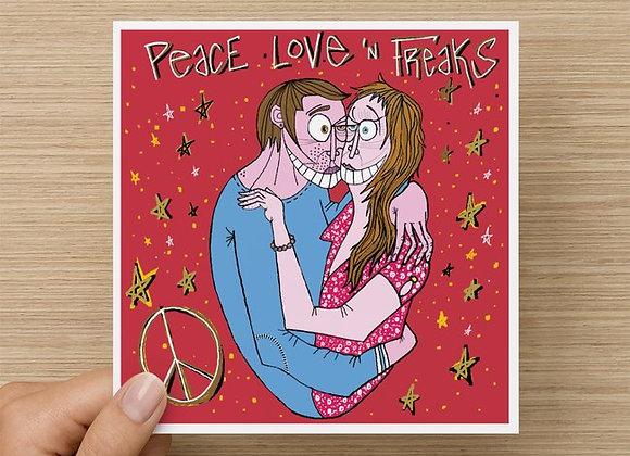 Peace Love 'n Freaks