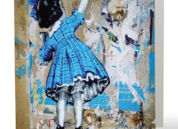 La robe bleue