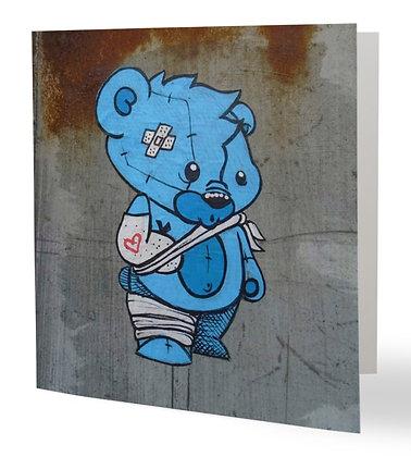 The injured bear
