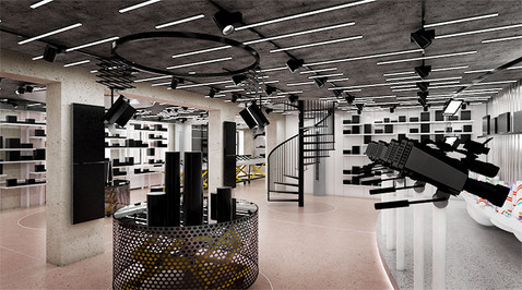 rekonstrukce showroomu