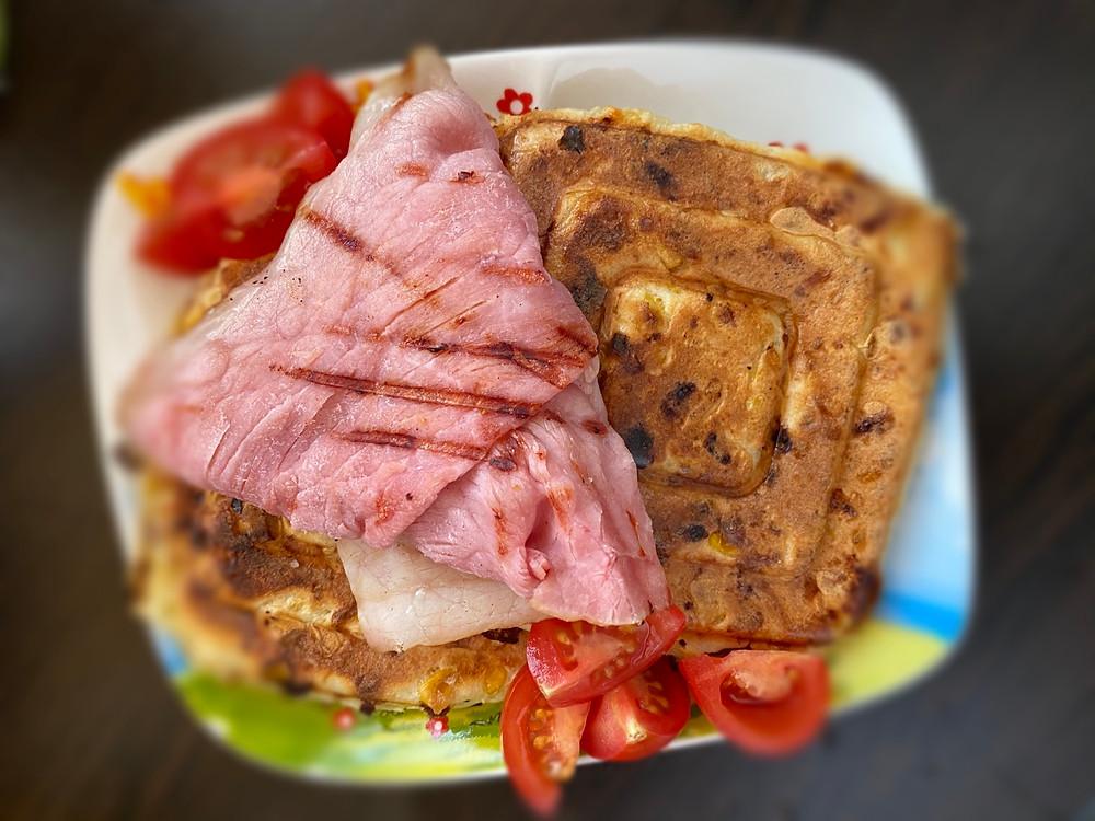 Savory pancakes ala Jamie Oliver