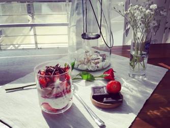 Летен лесен крем-сладолед без захар