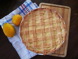 Лимонова кростата