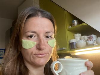 DIY маска за очи