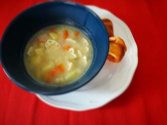 Пилешко-зеленчуковата супа на Катрин