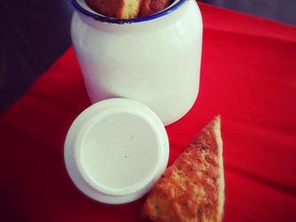 Скоунс със синьо сирене ... като в Единбург :)